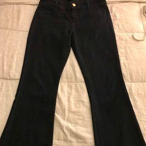 Express Slim Flare Mia Mid Rise Jean; 6R